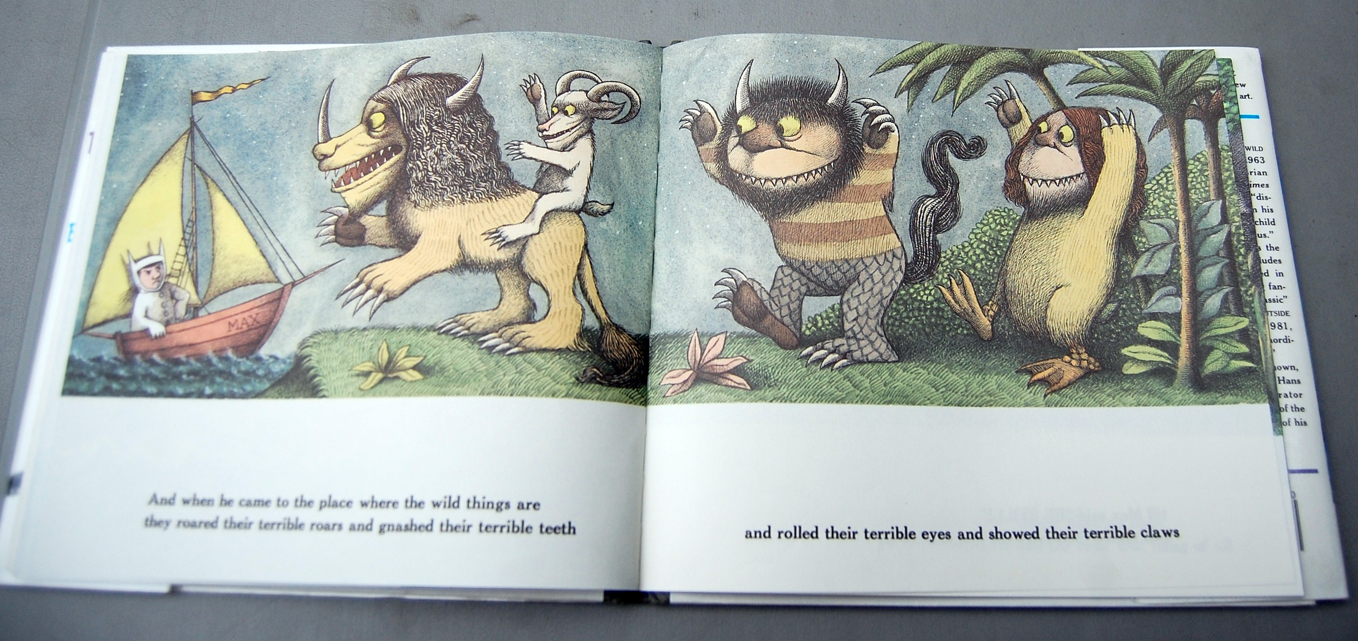 Where The Wild Things Are Book Boat 15315 | LOADTVE