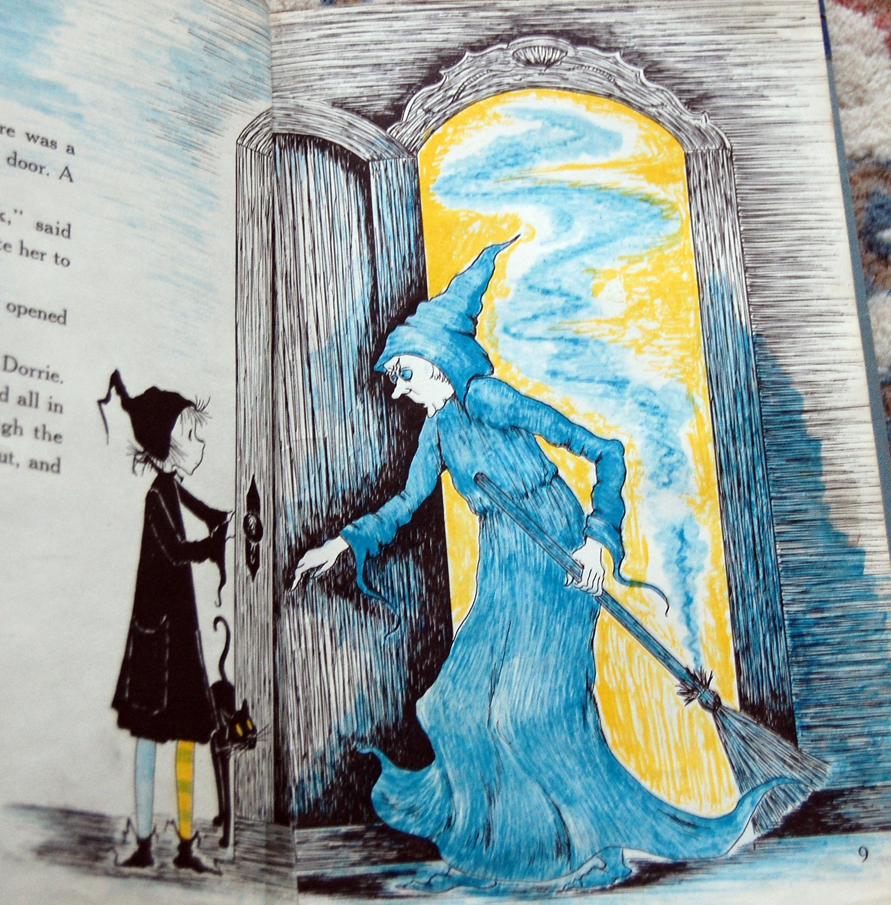 Dorrie And The Blue Witch By Patricia Coombs Fragile